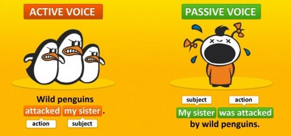 Chuyển tân ngữ ở câu chủ động thành chủ ngữ của câu bị động.