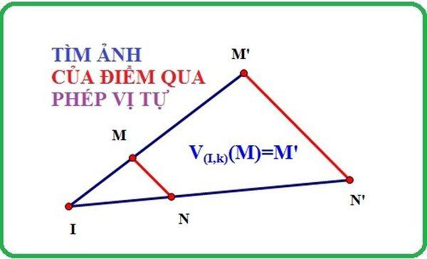 Áp dụng phép vị tự là dạng toán rất hay gặp trong toán hình học