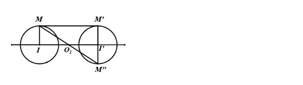 Phép vị tự biến tâm vị của đường tròn này thành đường tròn kia