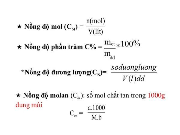 cong thuc tinh nong do mol 03