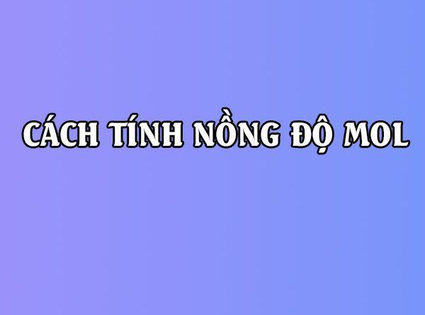 cong thuc tinh nong do mol 07