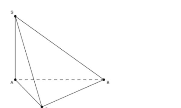 Tam giác ABC vuông cân tại A
