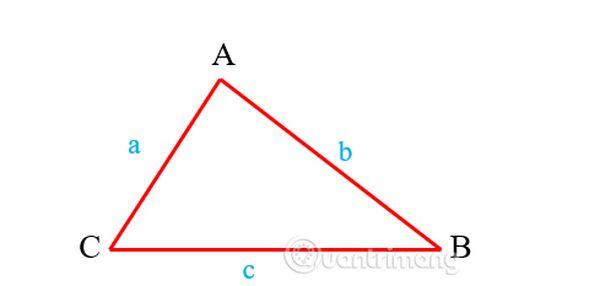 Công thức tính chu vi tam giác thường là gì?