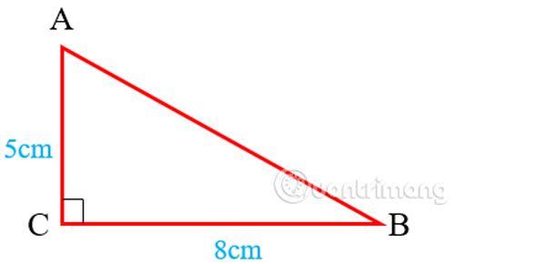 Công thức tính chu vi tam giác vuông là gì?